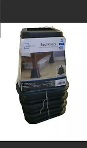 Mainstays Bed Risers (4 Ct.) [BRAND NEW]
