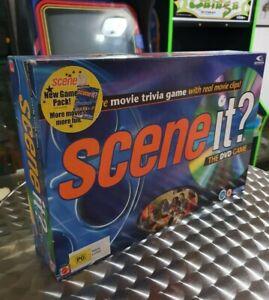SCENE IT - THE DVD GAME 1ST EDITION - MATTEL ORIGINAL 2003 Board Game