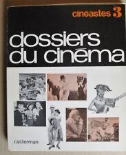 R40680 Dossier du Cinema, Cineastes 3 - Feuillets mobiles