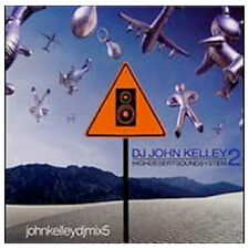 DJ JOHN KELLEY 2 Electronic Dance/Trance music CD **NEW** 2000 Moonshine Music