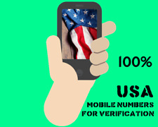 A Usa Phone Number for Verification Usa Non Voip Number.