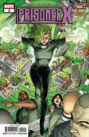 Age Of X-Man Prisoner X #2 Marvel Comics  2019 COVER A 1ST PRINT