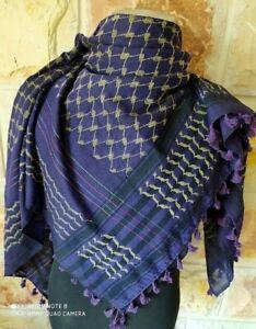 Shemagh  Scarf Original Palestinian Keffiyeh 100% Cotton Arab Hatta  Arafat