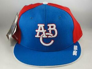 Atlanta Black Crackers Negro League Headgear Fitted Hat Cap Size 7 3/4 Royal Red