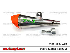 Exhaust Silencer With DB killer tip For Bikes and Scooters