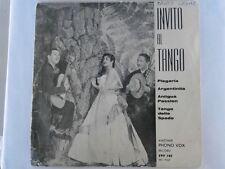 """LOS AFICIANADOS - Invito Al TANGO - 7"""" EP"""