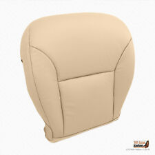 Driver Bottom Synthetic Leather Seat Cover Tan For 2005 2006 Lexus ES300 ES330
