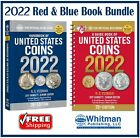 New 2022 Official Red Book Price Guide United States US Coin + Blue Book New Lot
