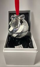 100% AUTHENTIC PANDORA ROCKETTES CHRISTMAS SPECTACULAR SILVER ORNAMENT PRE-OWNED