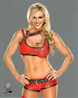 """WWE PHOTO CHARLOTTE FLAIR 8x10"""" OFFICIAL NXT DEBUT WRESTLING PROMO"""