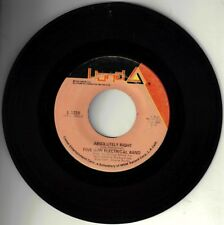 """FIVE MAN ELECTRICAL BAND! - """"ABSOLUTELY RIGHT"""" B/W """"BUTTERFLY"""" 45 VG VPI CLEANED"""
