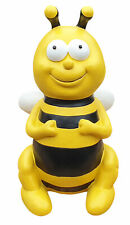 Gartenfigur sitzende Biene lustige Deko Tierfigur Gartendeko Dekofigur
