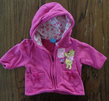 Disney Baby Winne-the-Pooh Pink Zip-Up Hooded Jacket -- Size 0-3 Months