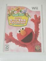 Sesame Street: Elmo's A-to-Zoo Adventure - The Videogame (Nintendo Wii, 2010)