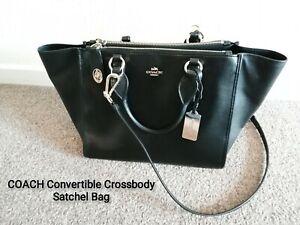 Coach crossbody handbag convertible satchel /barely used