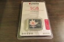 Kingston CF Compact Flash 1GB Memory Card Sealed Brand New