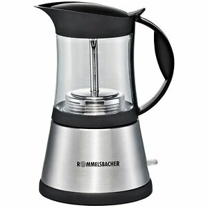 Rommelsbacher EKO 376/G, Espressomaschine, edelstahl