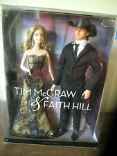 Tim McGraw and Faith Hill Pink Label Barbie Collector Set