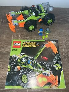 LEGO 8959 Power Miners Claw Digger - 100% complete with instructions