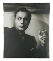 """Charles Boyer by George Hurrell Signed Photographic Print LE of 190 24"""" x 20"""""""