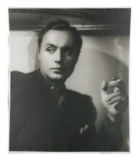 "Charles Boyer by George Hurrell Signed Photographic Print LE of 190 24"" x 20"""