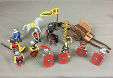 Playmobil Knights & Horses Figures For Castle