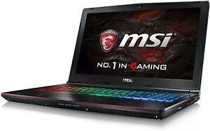 "MSI GE62 7RE GTX 1050Ti 8 GB DDR IV 128GB SSD, 1TB HDD 15.6"" FHD Gaming Laptop"