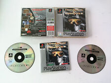 Command & Conquer 1 C&C (Stratégie) Sony Playstation PS1-PS2-PS3 PAL FR