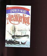 ENEMY IN SIGHT ( Bolitho in 1794) Alexander Kent  ,1979 Jove US SB VG