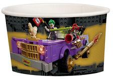 LEGO BATMAN ICE CREAM CUPS (8) ~ Birthday Party Supplies Treat Dessert Paper DC