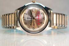 Timex Automatic Men's Watch, Ormet Production Record, Day/Date Timex 37719 10979