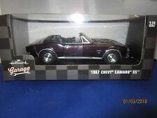 Hallmark Garage 1967 Chevrolet Camaro Ss Convertible1:24 collectible DieCast New