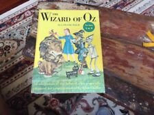Vintage 1950 The Wizard Of Oz Random House Hardcover Book Baum