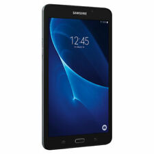 "SAMSUNG Galaxy Tab A 7"" 8GB Android 5.1 WiFi Tablet Black - Micro SD Card Slot"