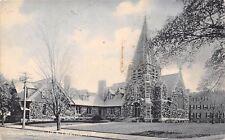 Waltham Massachusetts~Christ Church (Protestant Episcopal)(?)~1907 Postcard
