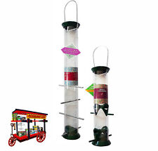 DROLL YANKEES 'THE NEW GENERATION' SET OF 2 FOREST GREEN FEEDERS