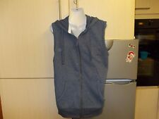 GEORGE COTTON POLYESTER MENS BLUE HOODED GILET/BODYWARMER SIZE  [36-38 INS CHEST
