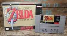 The Legend Of Zelda A Link To The Past (Super Nintendo SNES) With Custom Case +