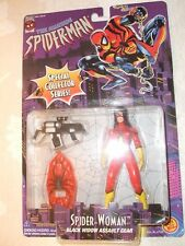 The Amazing Spider-Man Spider-Woman Black Widow Assault Gear Action Figure