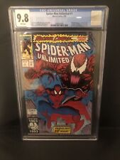 Spider-Man Unlimited #1 CGC 9.8 1st Appearance Shriek Venom 2 Movie Carnage