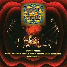Gov't Mule - Live With A Little Help From Our Friends 2 [New CD] UK - Import