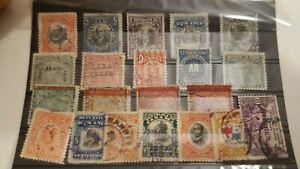 USA01/ Panama Canalzone Lot Marken