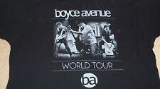 BOYCE AVENUE World Tour T-Shirt - Alternative Rock Band CD image Size XL