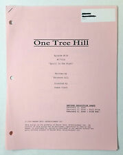 ONE TREE HILL revised partial script ~ 4 PINK PAGES ~ Season 1, Episode 16