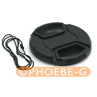 58mm Lens Front Snap-on Cap for Lens Hood / Filters