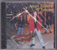 "*ALBERT ZAMORA & TALENTO-""Dos Corazones"" CLASSIC Tejano Tex Mex CD SEALED"