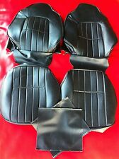 HOLDEN HJ,HX BLACK VINYL BUCKET SEAT KIT