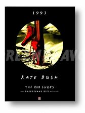 Kate Bush The Red Shoes Poster
