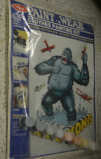 "Vintage Avalon Paint n Wear ""King Kong"" #5131 RARE & Sealed  painting kit easy"