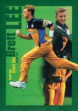 #T104. BRETT  LEE AUSTRALIAN  CRICKET BOWLER  POSTER
